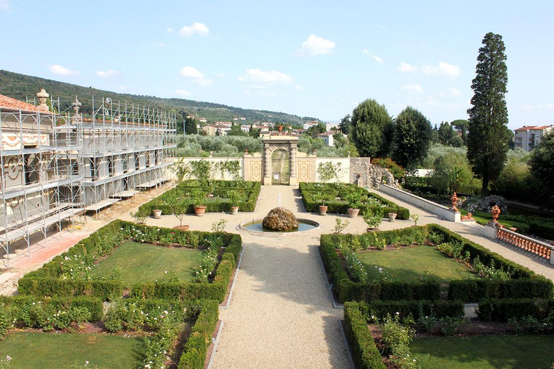 Firenze, progetto di restauro giardino romantico Primanatura Giardini