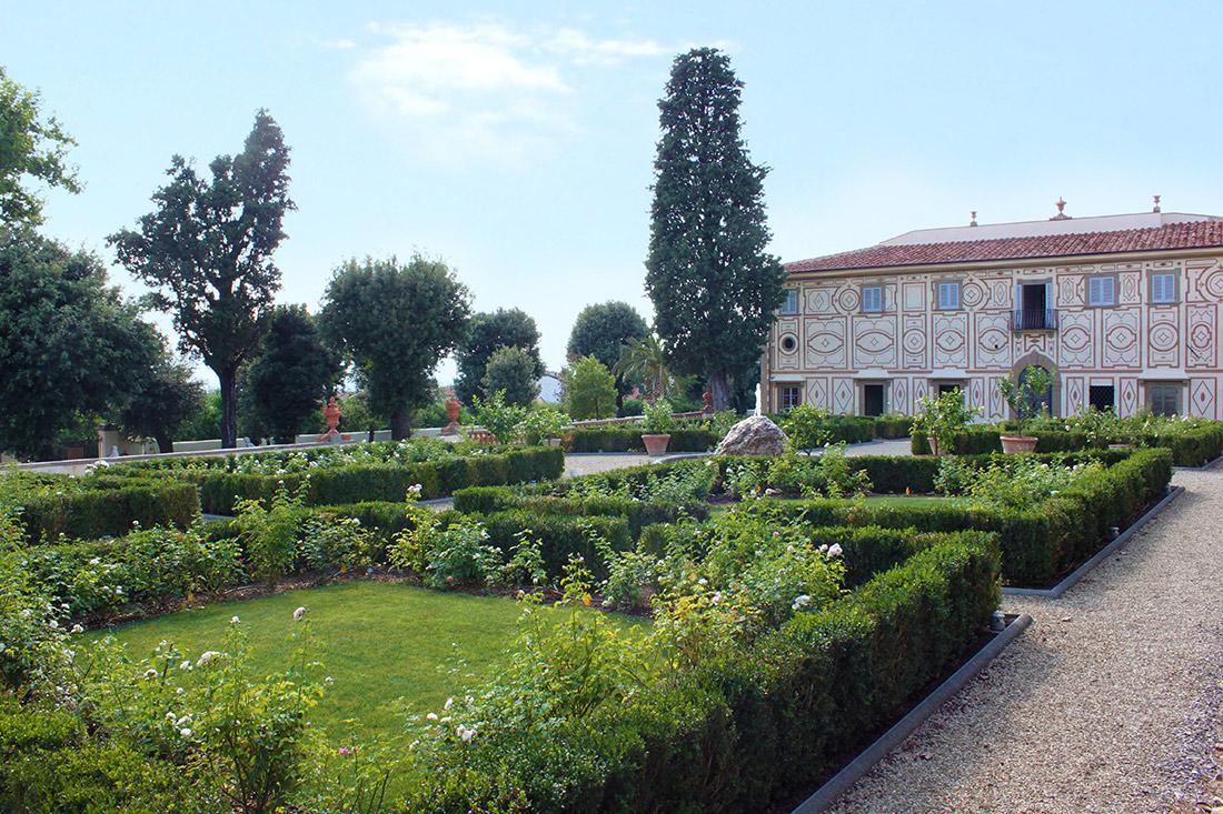 Firenze, progetto di restauro giardino romantico