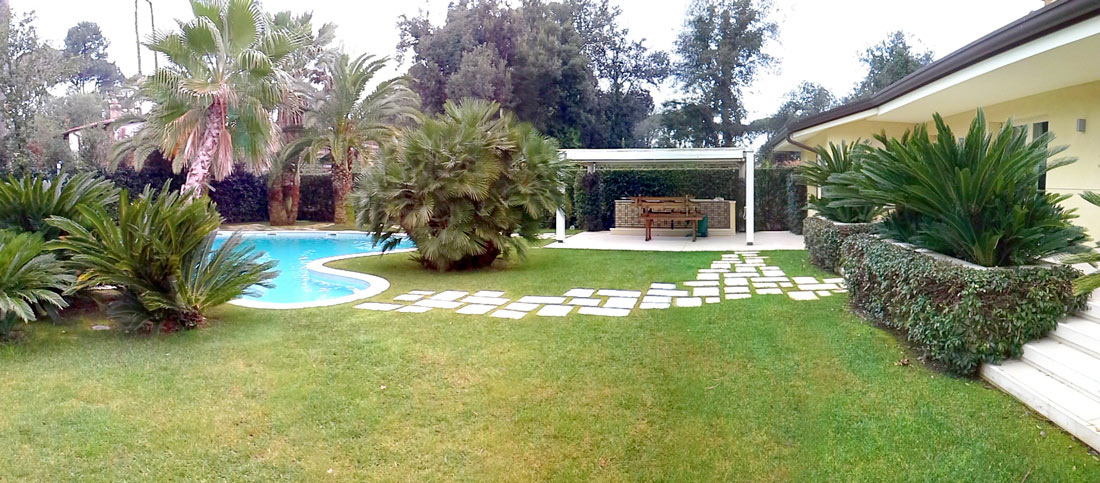 Forte dei Marmi, private villa garden project