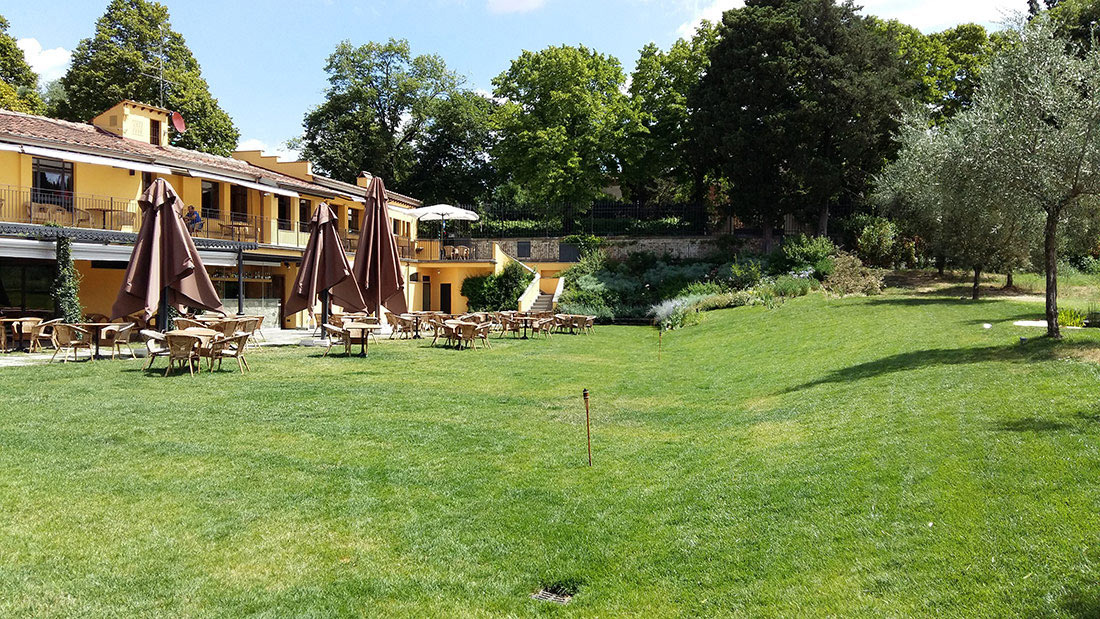 Kitchen garden, olive grove and terrace garden project in Florence