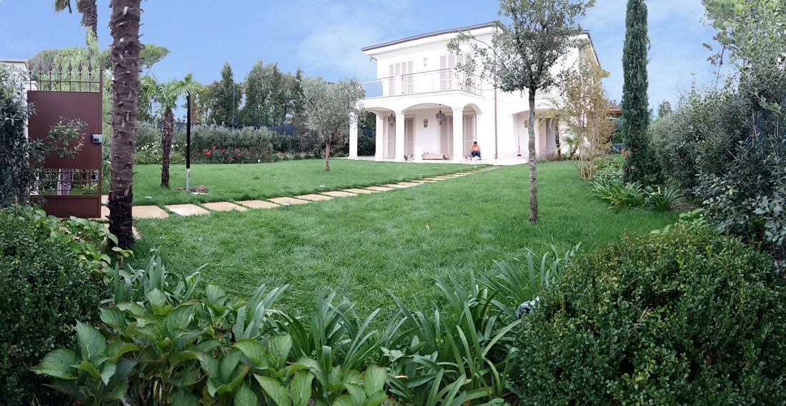 Progetto di giardino mediterraneo, Lucca
