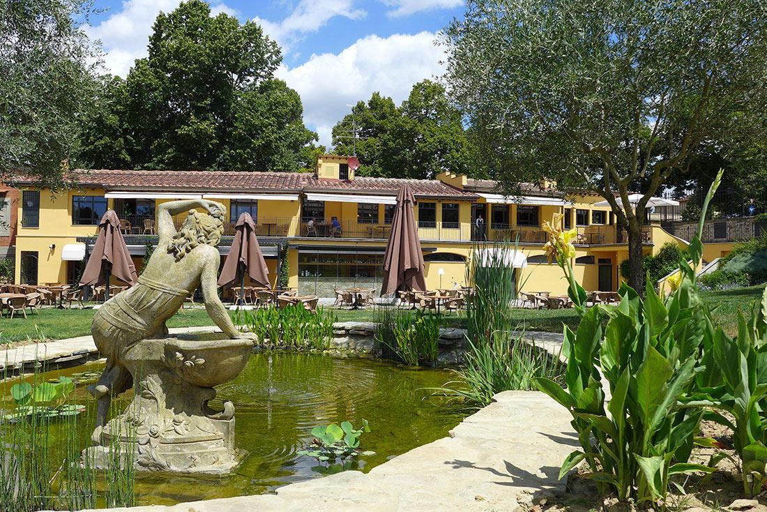 Realizzazione del giardino del ristorante chalet fontana - Progetto per giardino ...