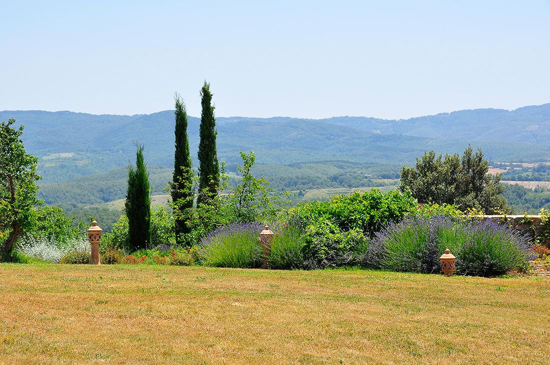 Terni, landscape design for countryside residence