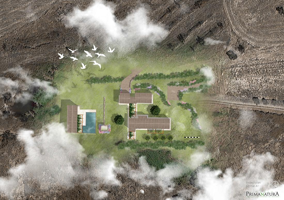 Terni, landscape design per residenza di campagna