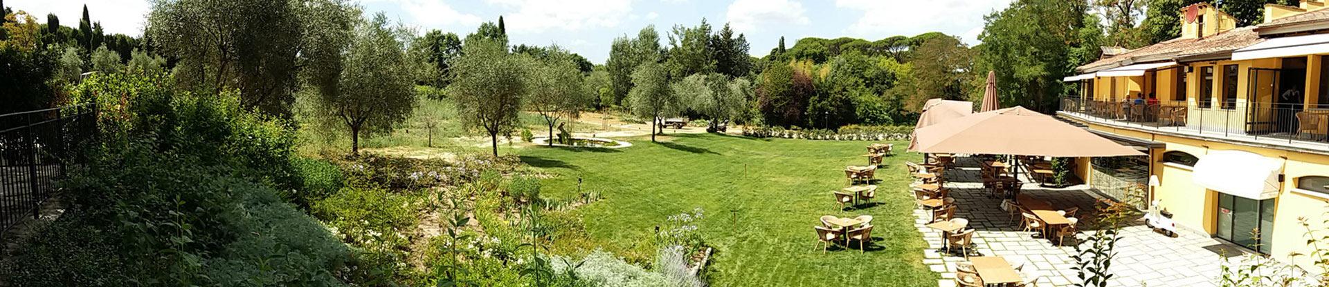 Realizzazione del giardino del ristorante chalet fontana - Gradoni giardino ...