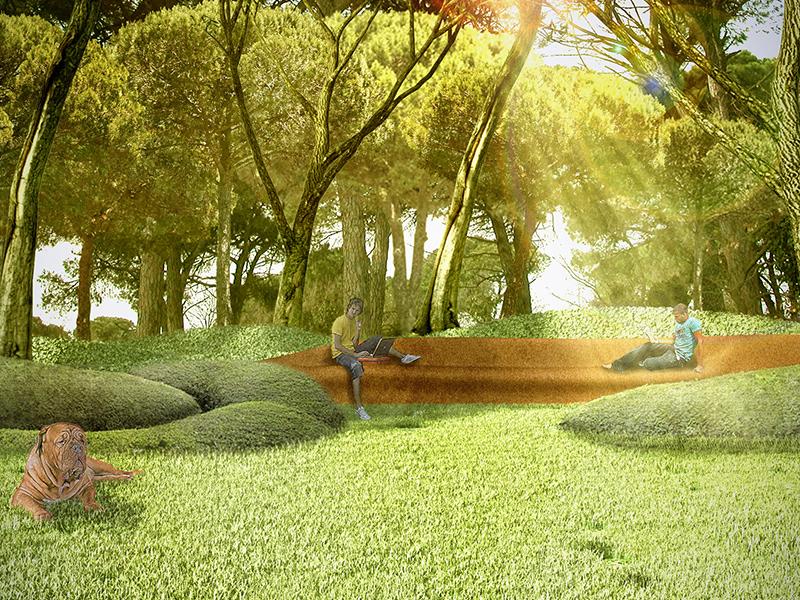 Landscape Design, Castiglione della Pescaia