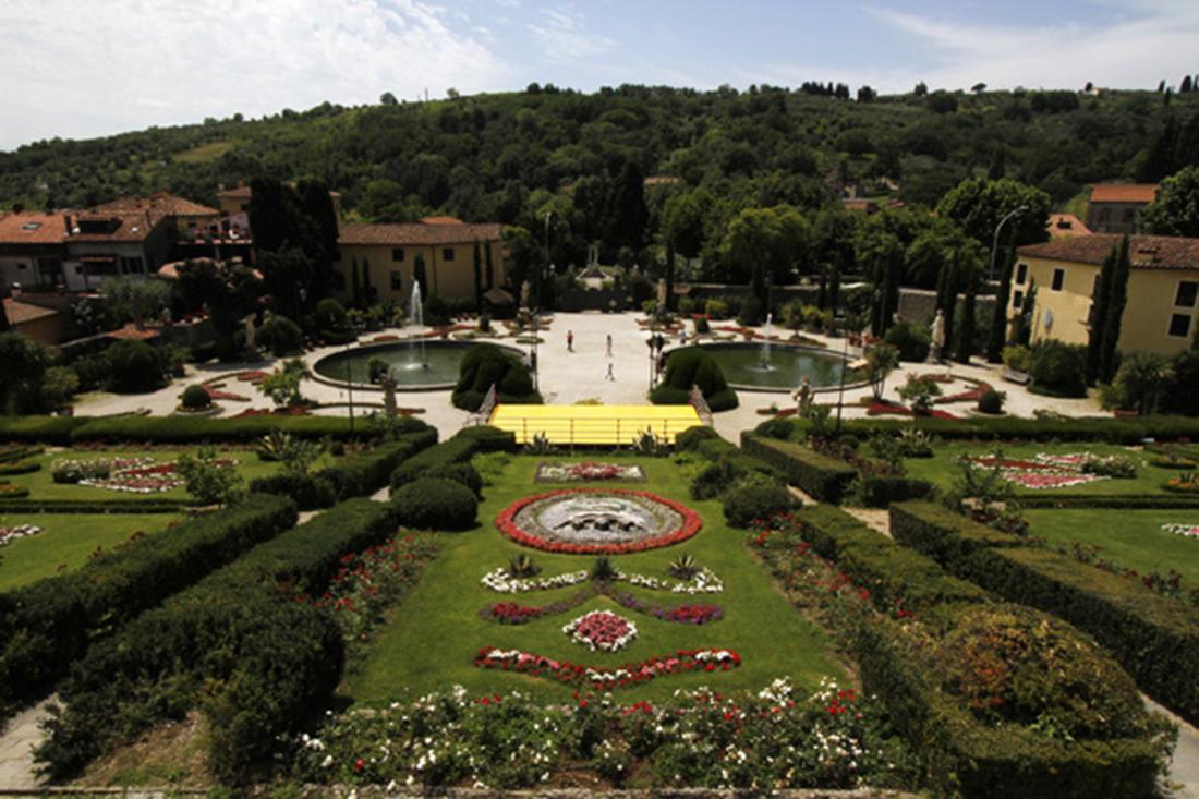 Lucca, progetto di allestimento e restauro giardino storico