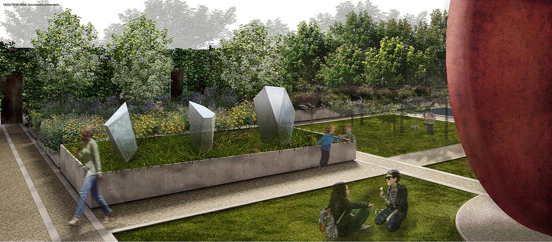 Pistoia, landscape design progetto per concorso pubblico