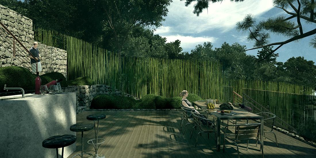 Progetto di Landscape Design Cap Ferrat