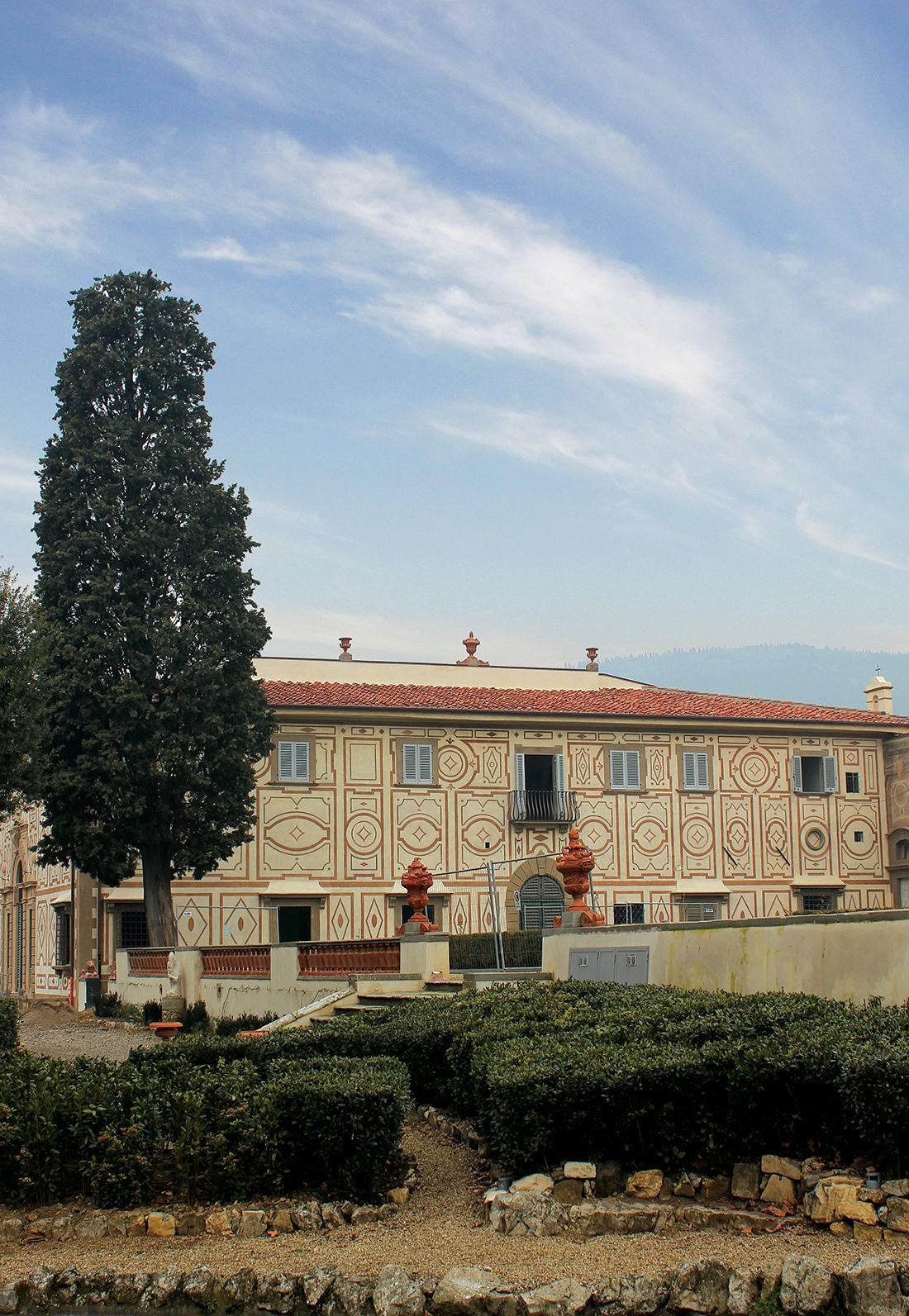 Recupero filologico di un giardino storico in Toscana