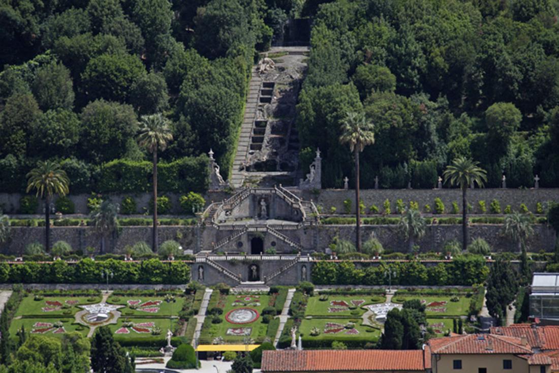Restauro di giardino monumentale, Villa Garzoni, Lucca