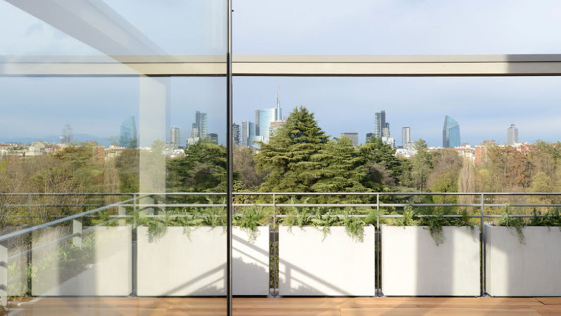 Progetto di giardino pensile edibile per ristorante a - Progetto per giardino ...