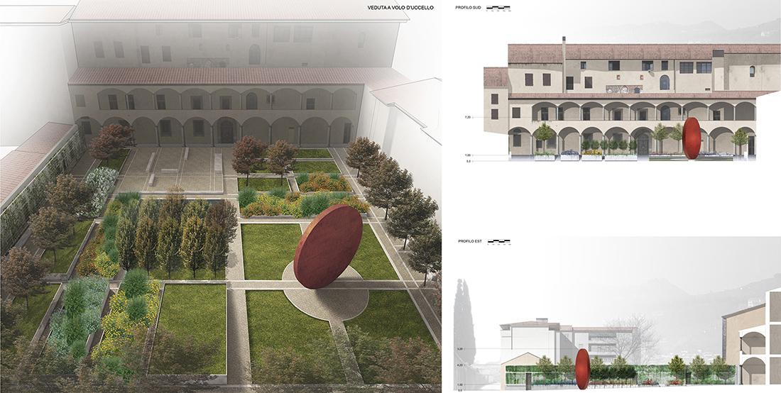 progetto di parco pubblico per Pistoia
