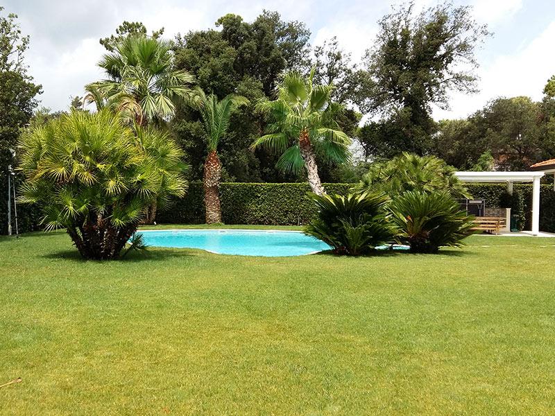 Super Realizzazione e manutenzione di giardino privato a Forte dei Marmi UU83