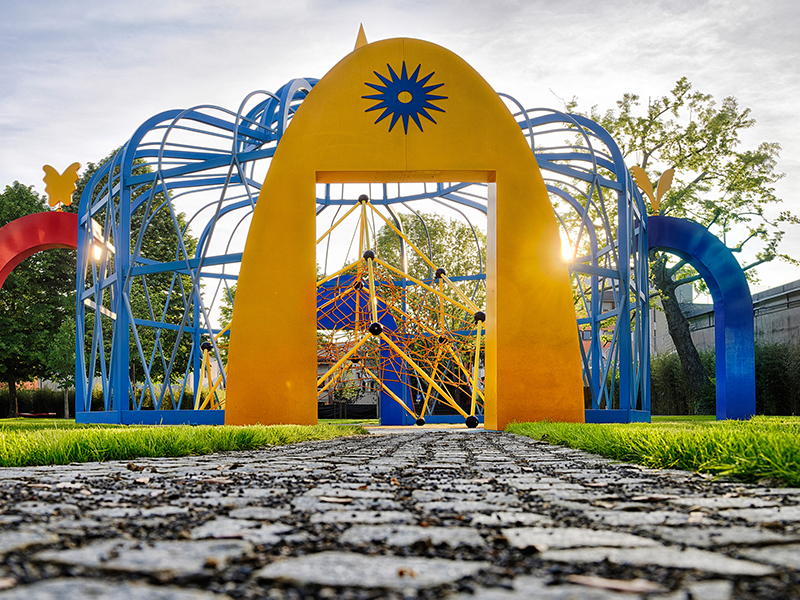realizzazione giardino pubblico Pistoia