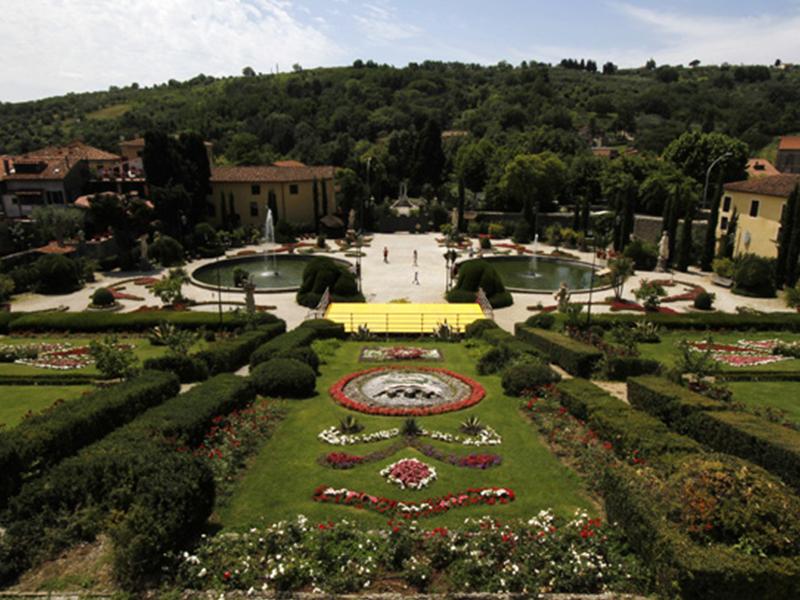 restauro giardino storico Collodi, Lucca